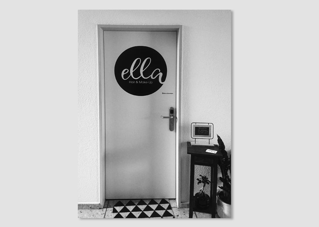 Ella Hair & Make Up Logo